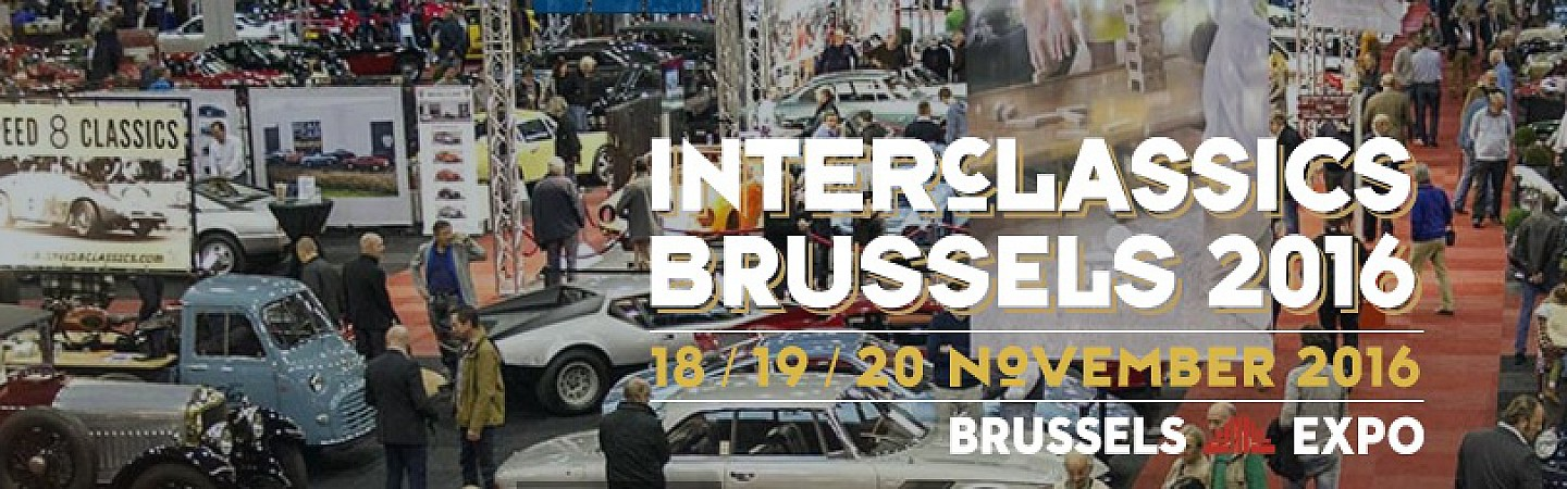 Interclassic beurs Brussel- Expo